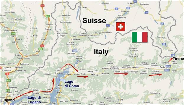 image033 Map Of Lake Como And Bernina Express Route on