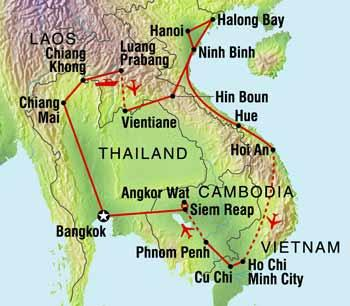 south east asia loop part 1 northern thailand and laos south east asia ...